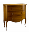 Oval Chest of 3 Drawers