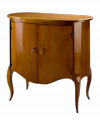 Oval Chest of Drawers with doors