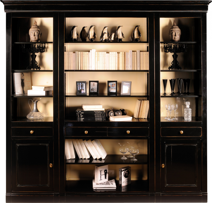 biblioth que classique biblioth ques labar re les meubles de navarre. Black Bedroom Furniture Sets. Home Design Ideas
