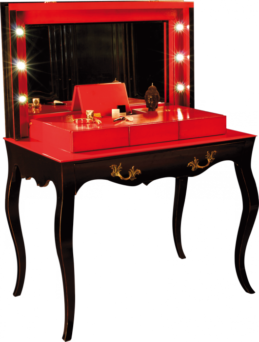 loge maquillage coiffeuses labar re les meubles de navarre. Black Bedroom Furniture Sets. Home Design Ideas