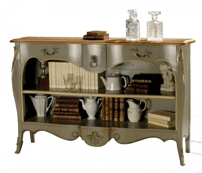 Bibus 3 tiroirs entr es labar re les meubles de navarre for Meuble tv transparent