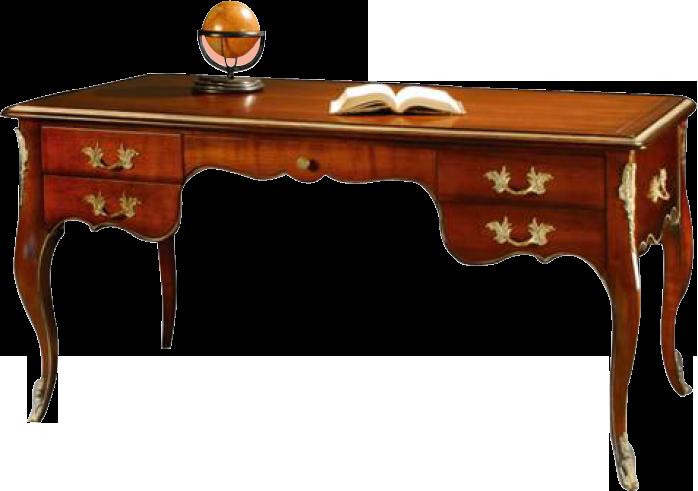 Bureau 5 tiroirs bureaux labar re les meubles de navarre for Bureau 13 babylon 5